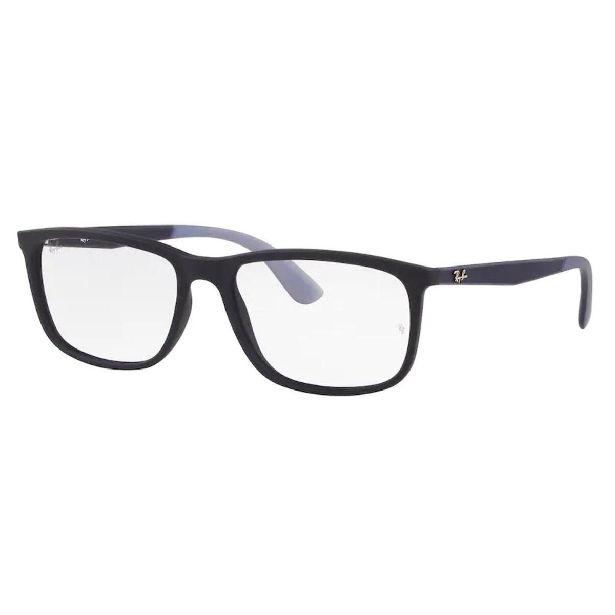Óculos de Grau Ray Ban RX7171L Azul Emborrachado Grande