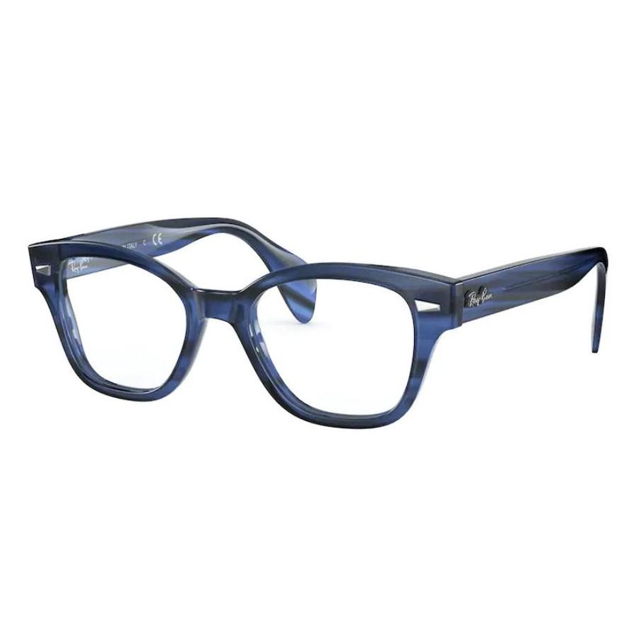 Óculos de Grau RayBan RX0880 Azul Havana Brilho