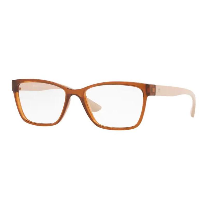 Óculos de Grau Tecnol TN3060 Marrom Translúcido Pequeno
