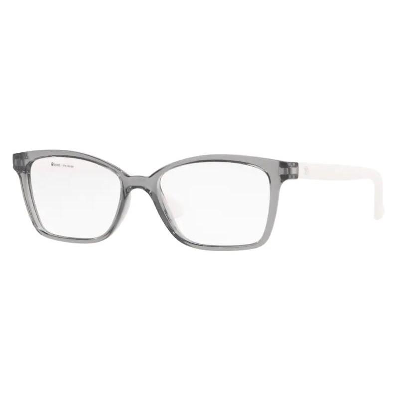 Óculos de Grau Tecnol TN3069 Cinza Translúcido com Branco