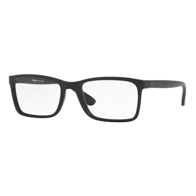 Óculos de Grau Tecnol TN3056 Preto Fosco Masculino