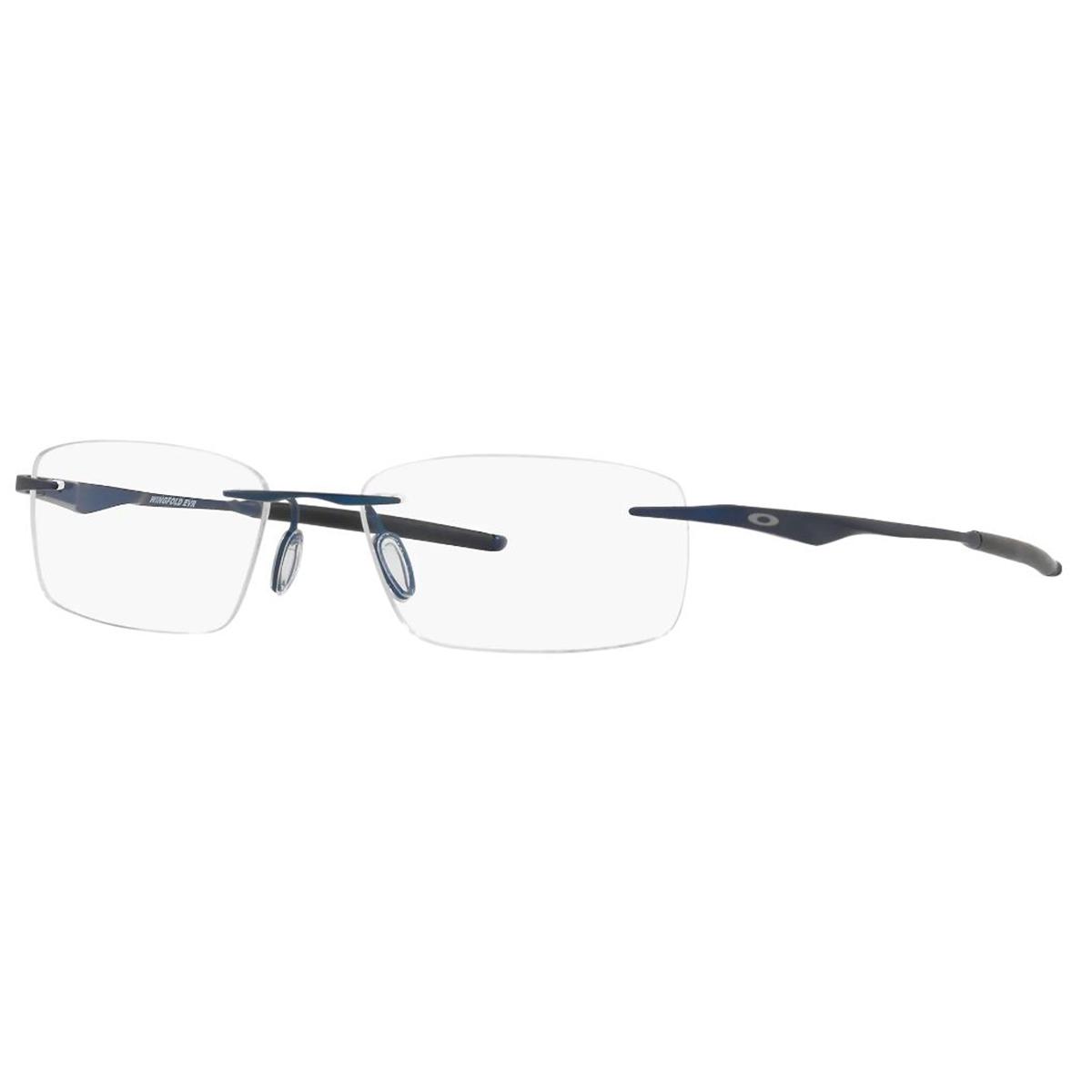 Óculos de Grau Titanium Oakley OX5118 Wingfold Evr Azul Marinho