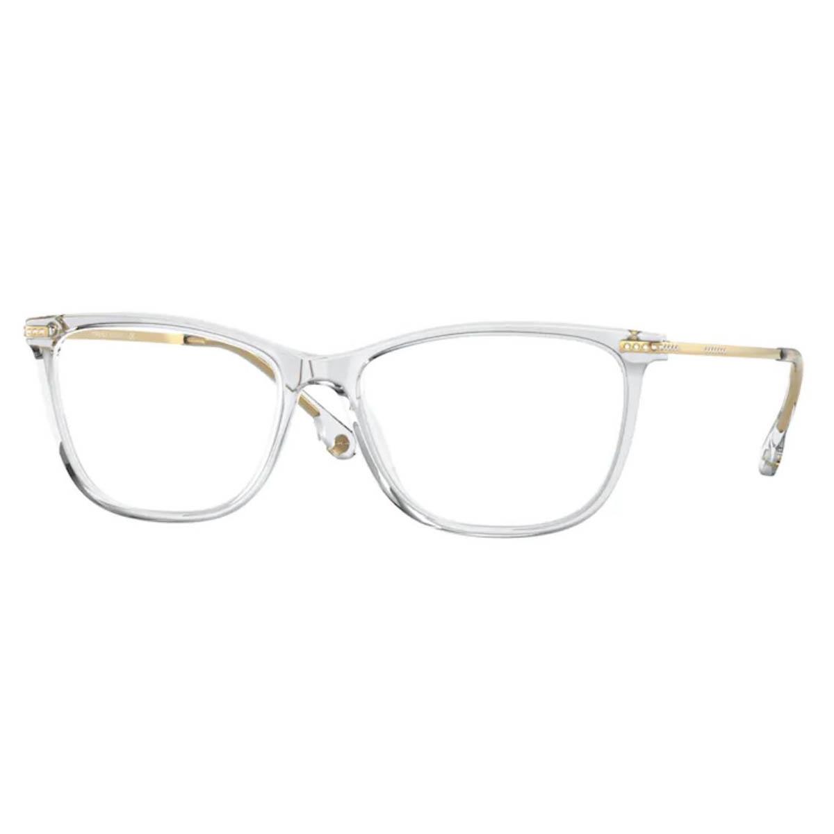 Óculos de Grau Versace VE3274B Transparente com Dourado