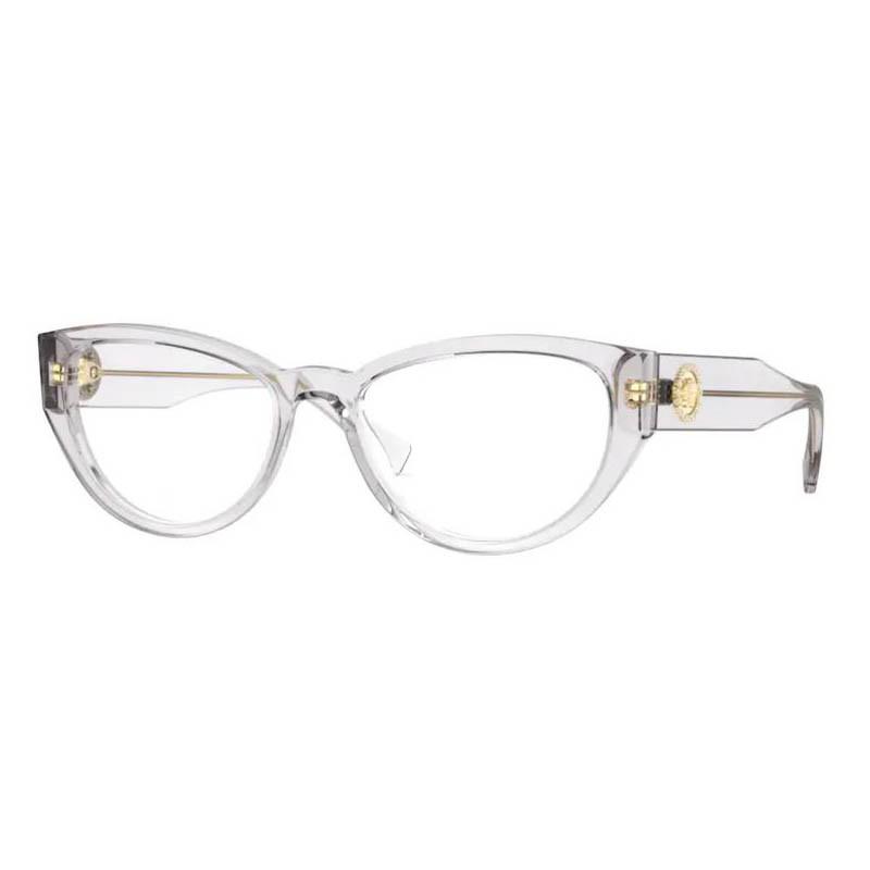 Óculos de Grau Versace VE3280B Gatinho Cinza Transparente
