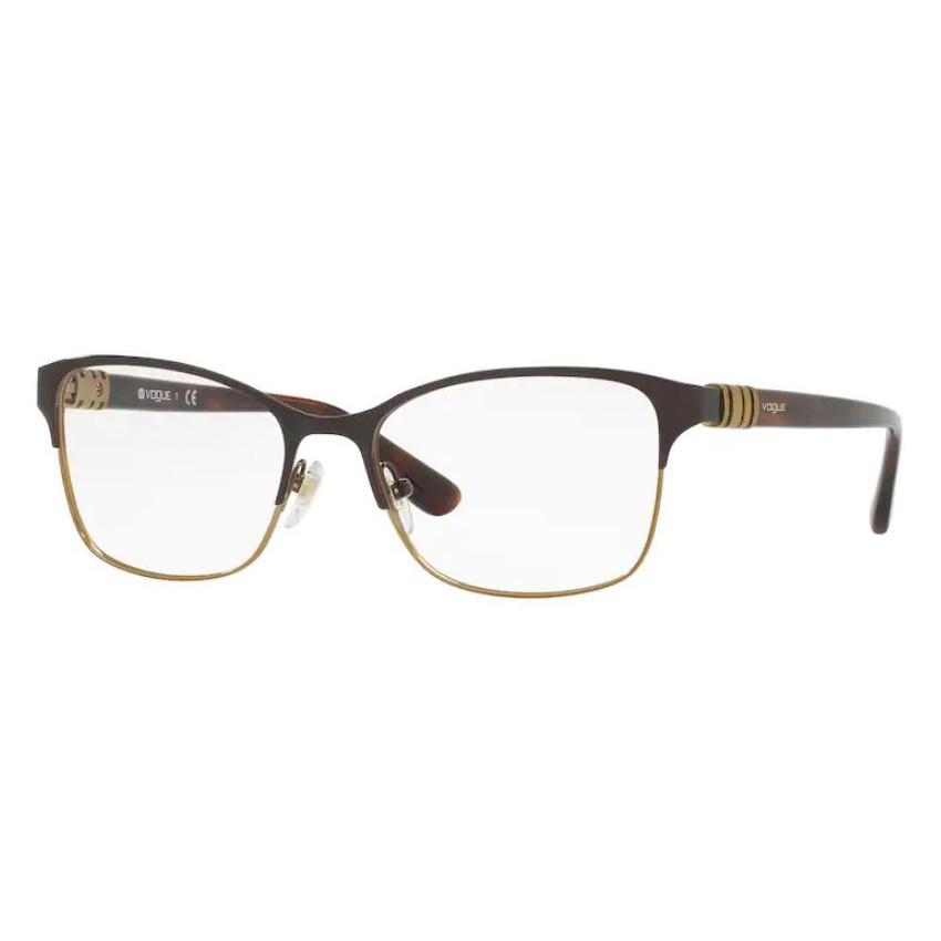Óculos de Grau Vogue Feminino Marrom VO4050 Metal