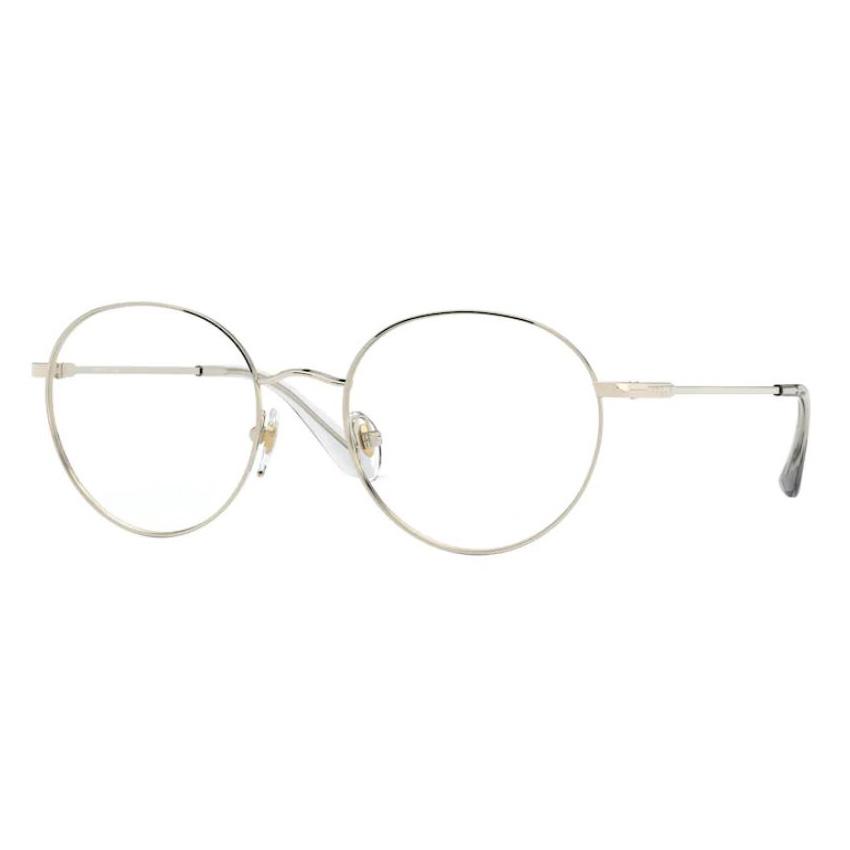 Óculos de Grau Vogue VO4177 Redondo Metal Dourado Tamanho 52
