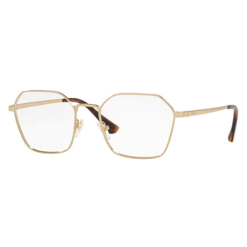 Óculos de Grau Vogue VO4187 Dourado Brilho Tamanho 52