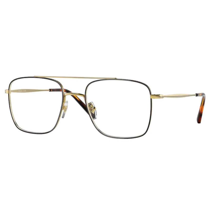 Óculos de Grau Vogue VO4192 Metal Marrom Havana com Dourado