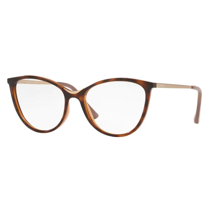 Óculos de Grau Vogue VO5320L Marrom Havana Brilho