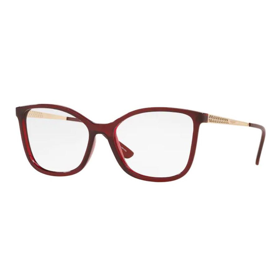 Óculos de Grau Vogue VO5334L Vermelho Brilho e Dourado