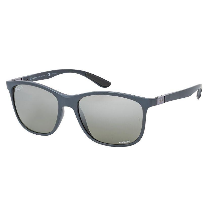 Óculos de Sol Ray Ban RB4330 Chromance Cinza Fosco Polarizado
