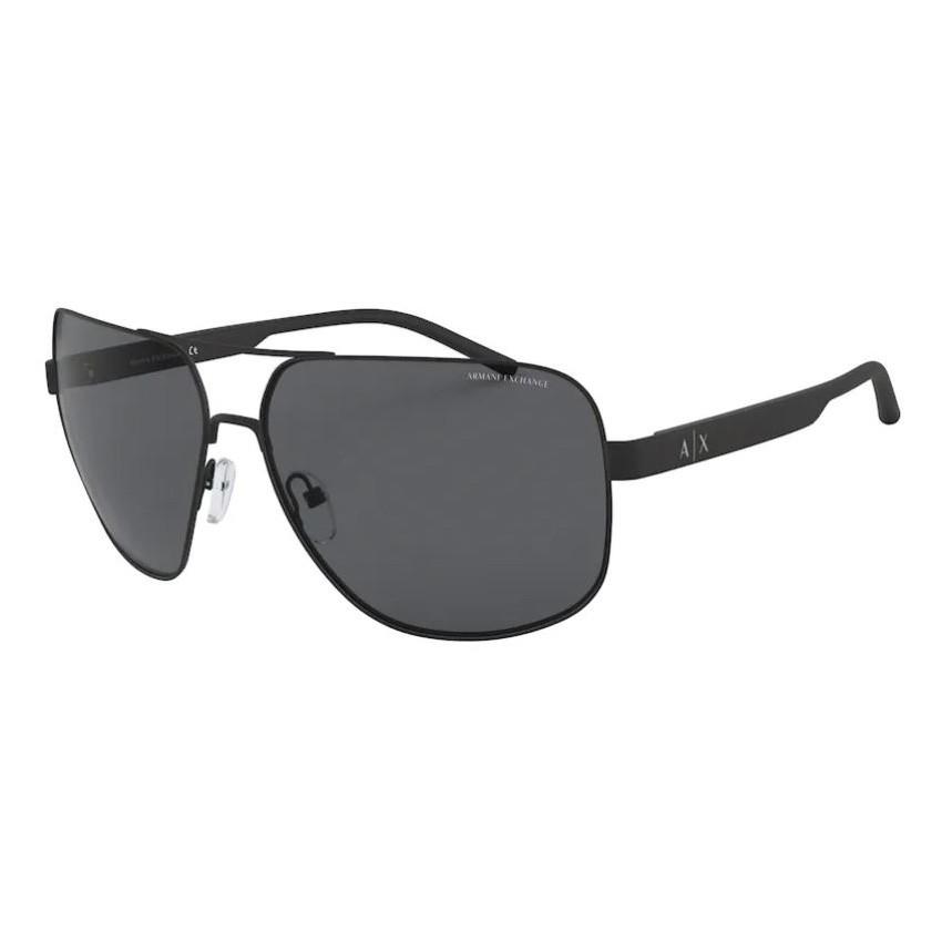 Óculos de Sol Armani Exchange AX2030S Grande Preto Fosco