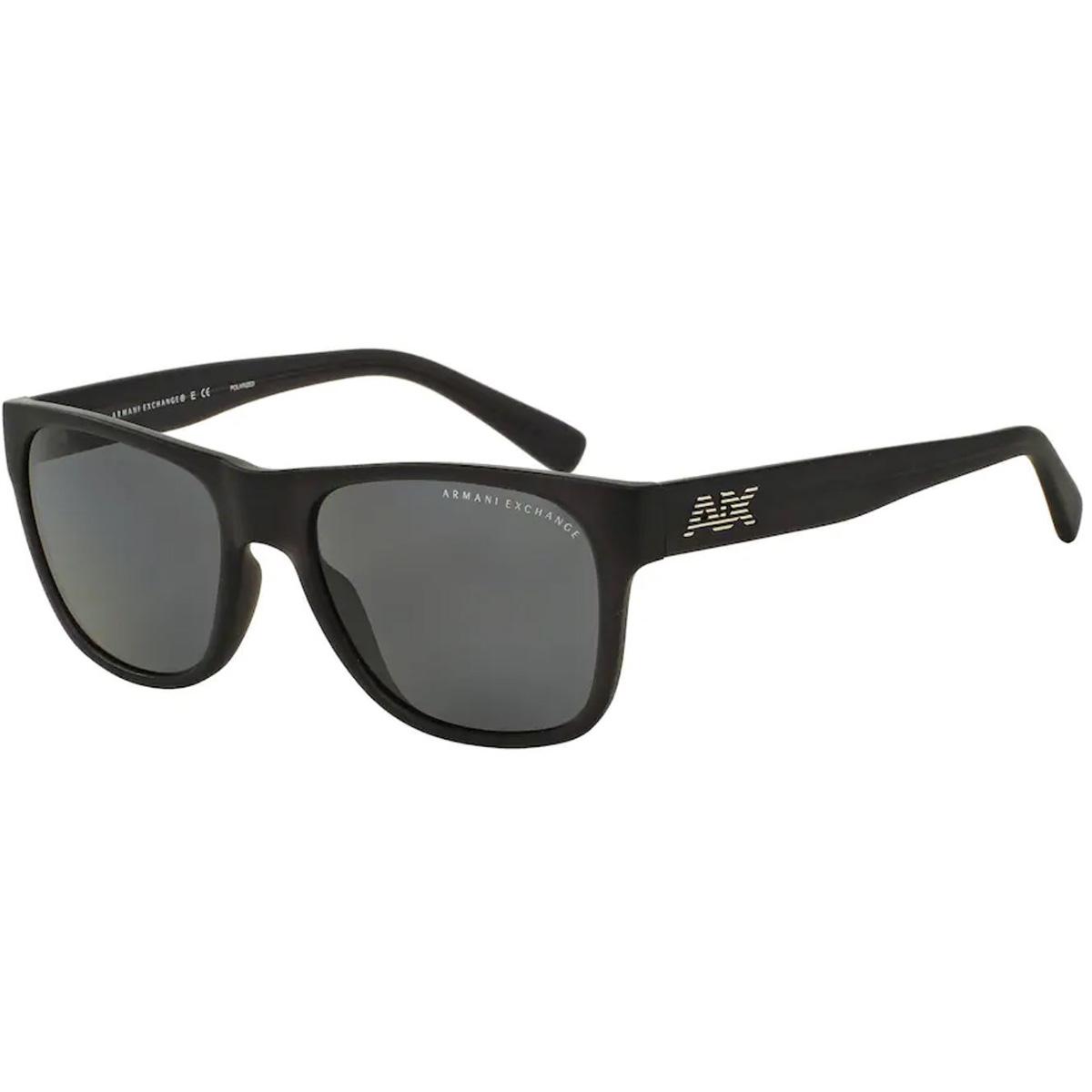 Óculos de Sol Armani Exchange AX4008L Preto Fosco Polarizado