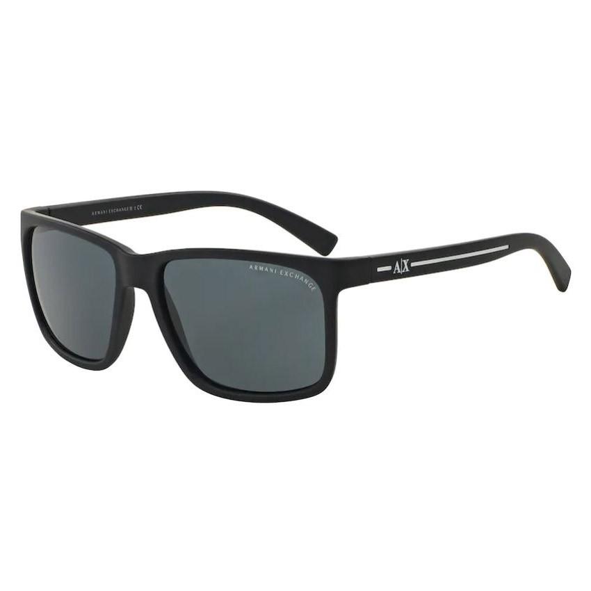 Óculos de Sol Armani Exchange AX4041SL Quadrado Azul Fosco