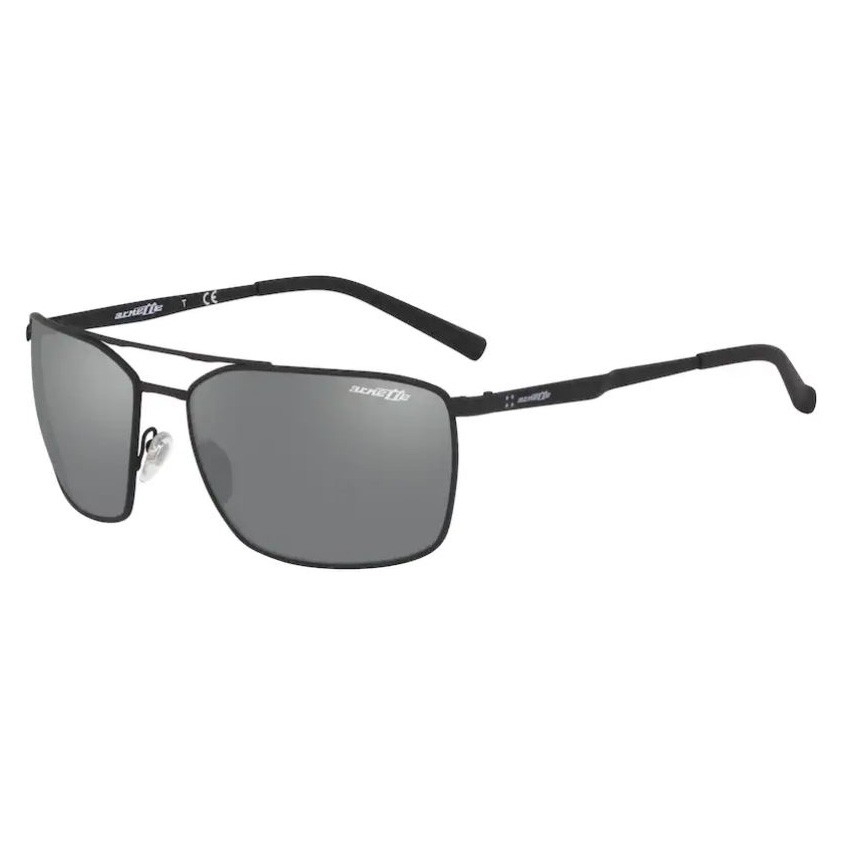 Óculos de Sol Arnette AN3080 Maboneng Metal Preto Espelhado Grande