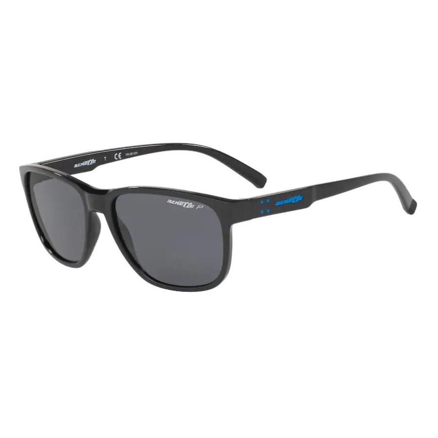 Óculos de Sol Arnette Urca AN4257 Preto Brilho Polarizado