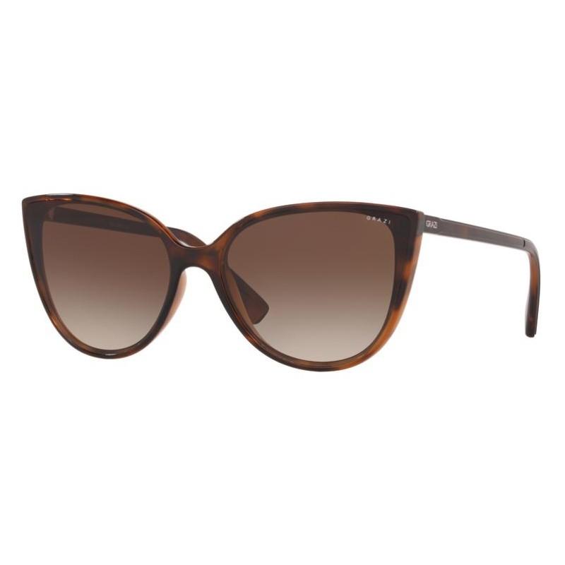 Óculos de Sol Feminino Grazi Gatinho GZ4035 Marrom Havana
