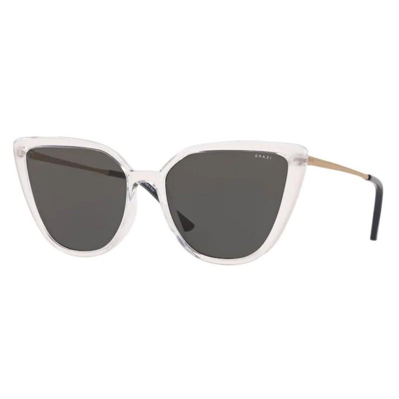 Óculos de Sol Feminino Grazi GZ4041 Gatinho Transparente