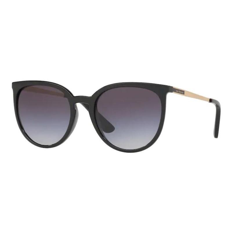 Óculos de Sol Feminino Jean Monnier J84136 Preto Brilho Redondo