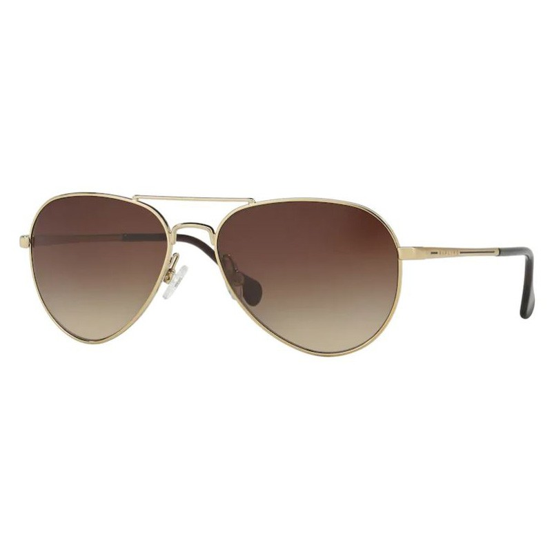 Óculos de Sol Feminino Kipling Fun KP2017 Metal Dourado Brilho