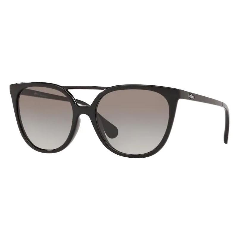 Óculos de Sol Feminino Kipling KP4062 Preto Brilho Ponte Dupla