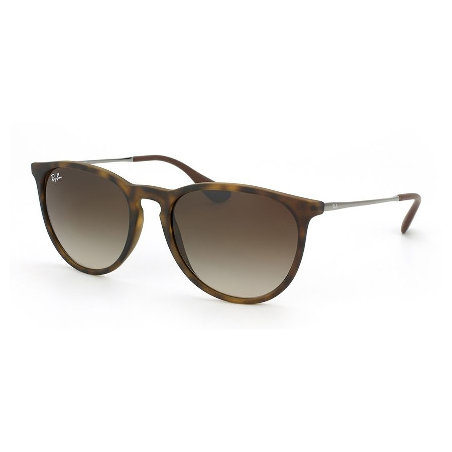 Óculos de Sol Feminino Ray Ban Erika RB4171L Marrom Havana Fosco