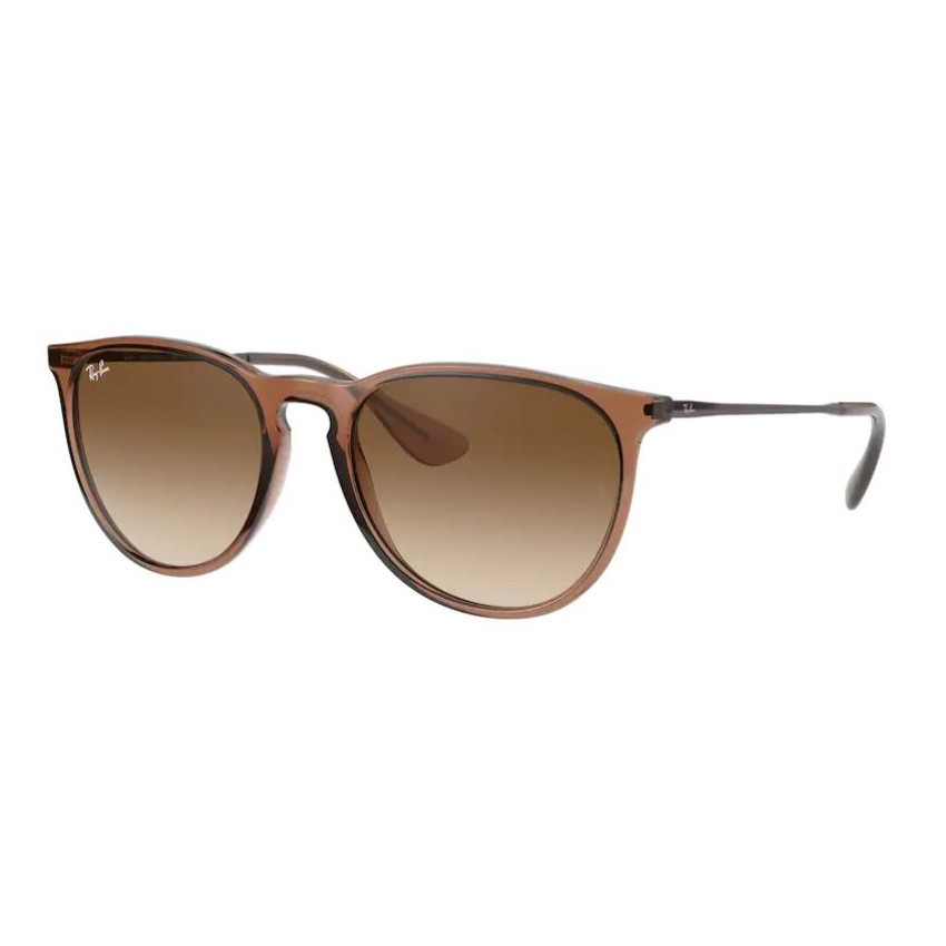 Óculos de Sol Feminino RayBan Erika RB4171 Marrom Translúcido