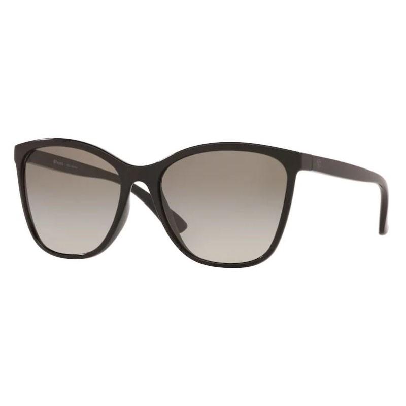 Óculos de Sol Feminino Tecnol TN4027 Preto Brilho Cinza Degrade