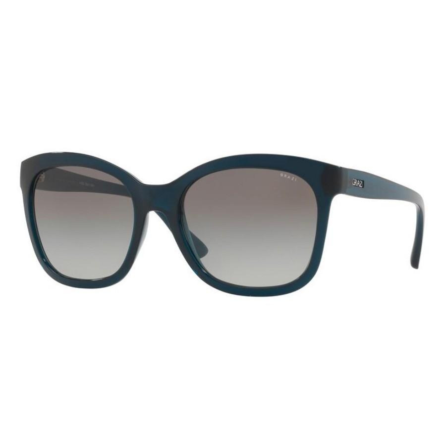 Óculos de Sol Grazi Eyewear GZ4021 Verde Petróleo Translúcido