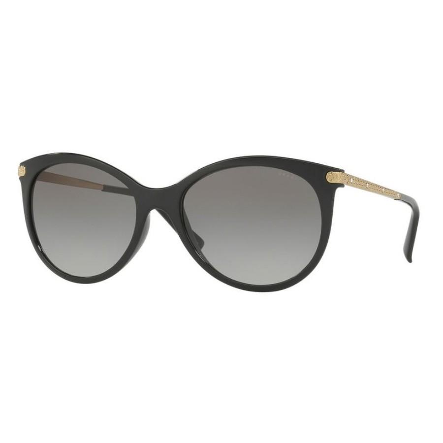 Óculos de Sol Grazi Feminino GZ4018B Preto Brilho com Dourado
