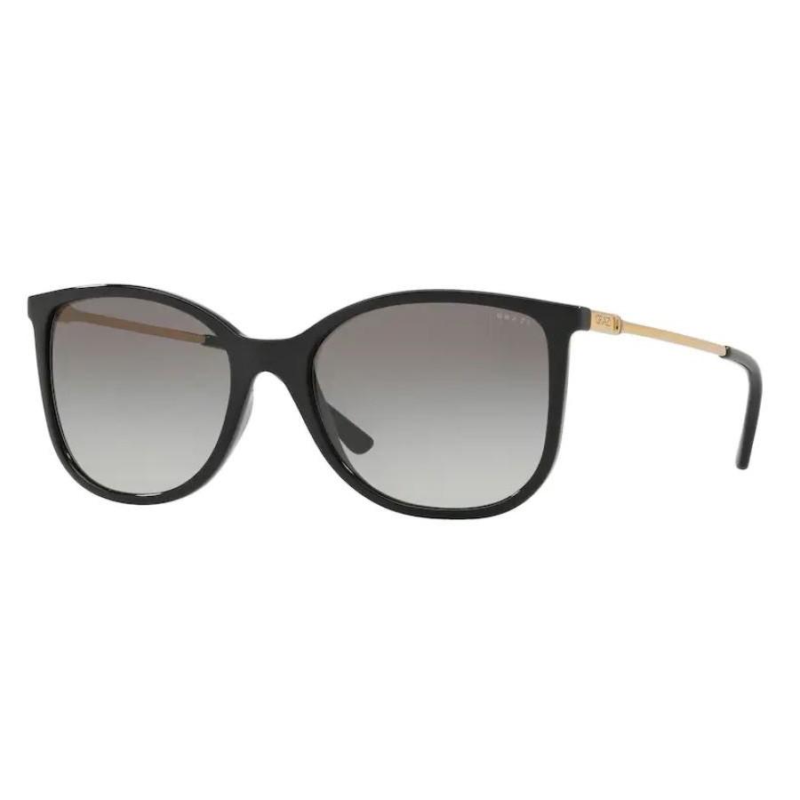 Óculos de Sol Grazi GZ4020 Preto Brilho Tamanho 55