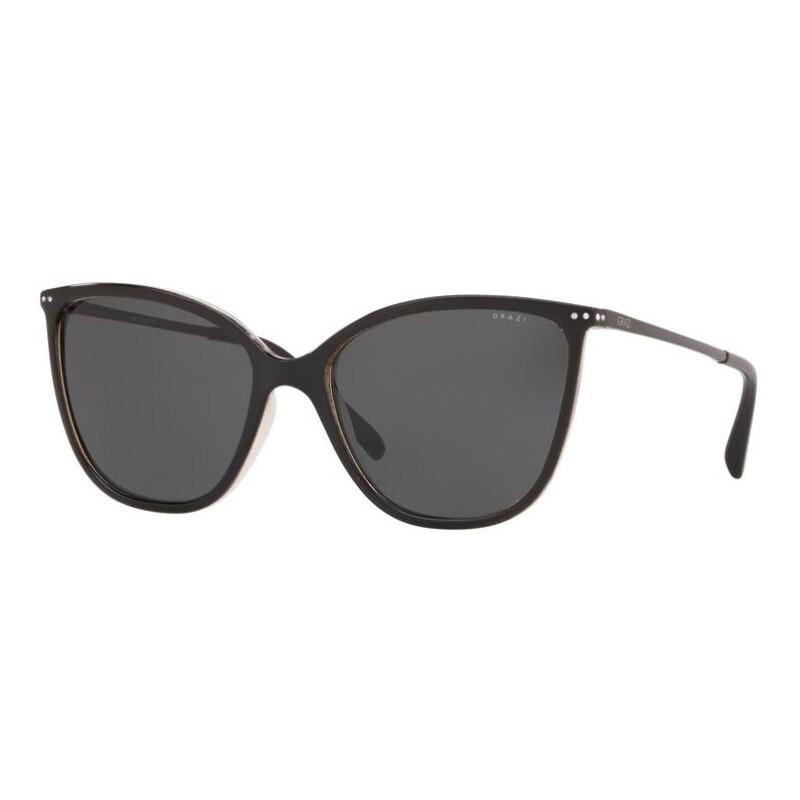 Óculos de Sol Grazi Massafera Gatinho GZ4033B Preto Brilho