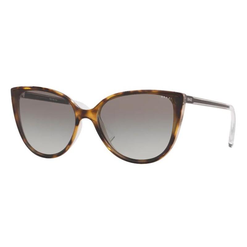 Óculos de Sol Grazi Massafera Gatinho GZ4035 Marrom Tartaruga
