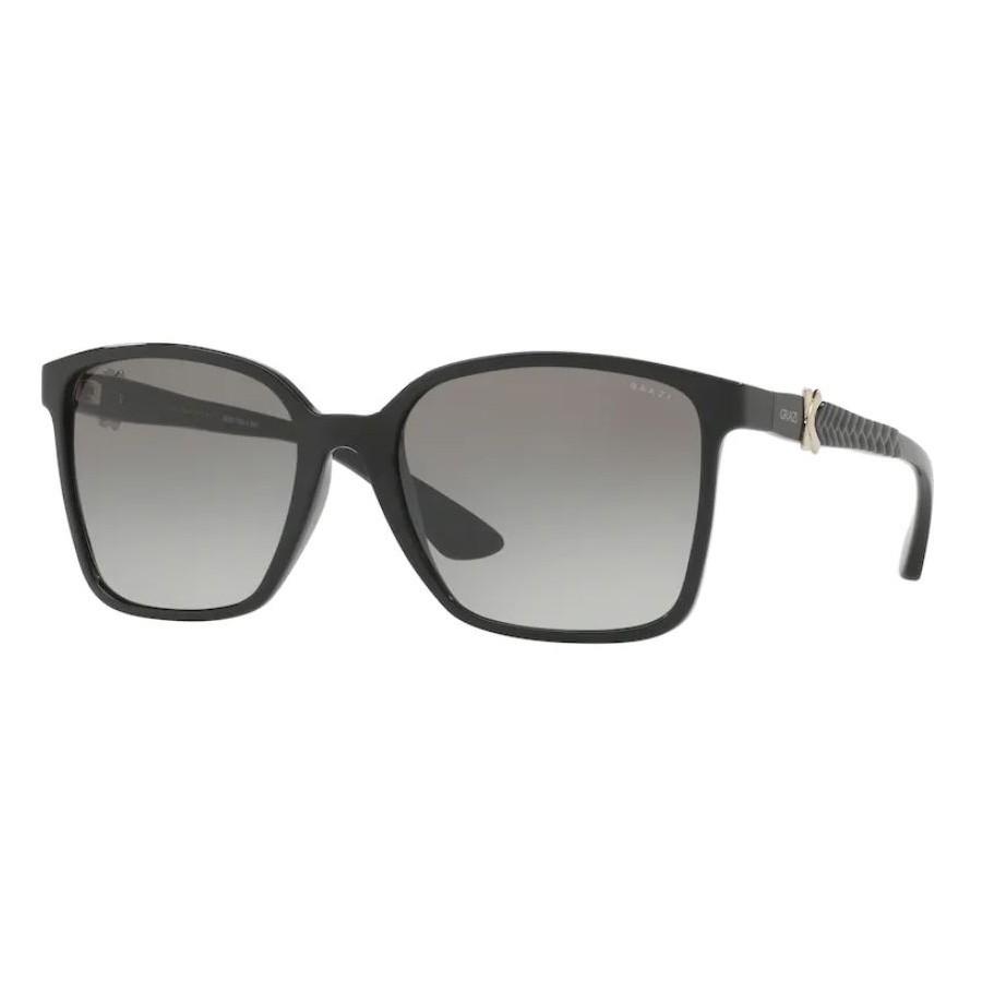 Óculos de Sol Grazi Quadrado GZ4022 Preto Brilho Grande