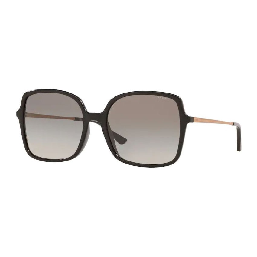 Óculos de Sol Grazi Quadrado GZ4040 Preto Brilho Grande