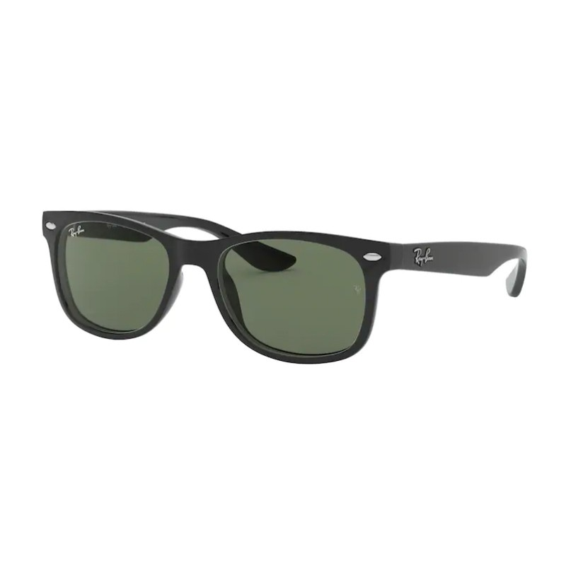 Óculos de Sol Infantil RayBan Junior New Wayfarer Preto Brilho