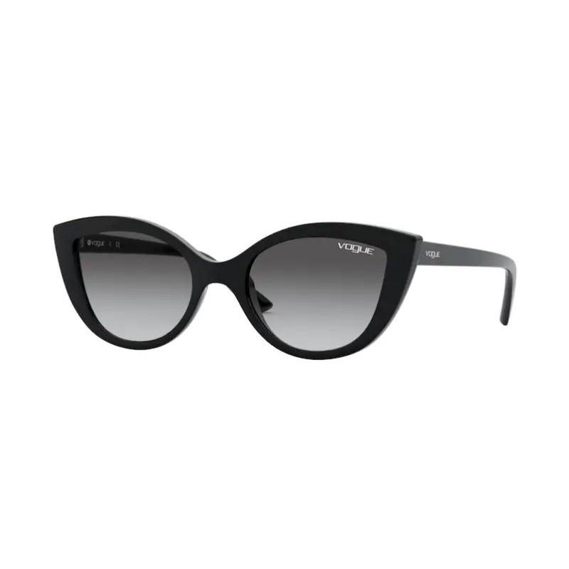 Óculos de Sol Infantil Vogue VJ2003 Preto Brilho Gatinho