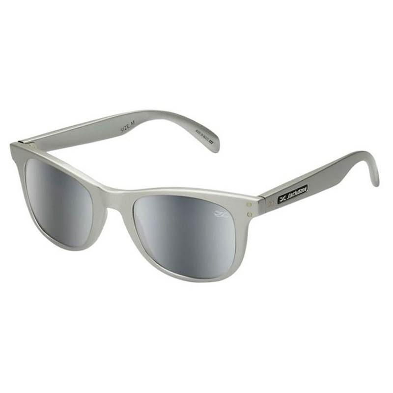 Óculos de Sol Jackdaw 23 Cinza Brilho Espelhado Grilamid