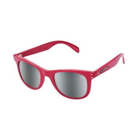 Óculos de Sol Jackdaw 26 Cereja Brilho Feminino Espelhado