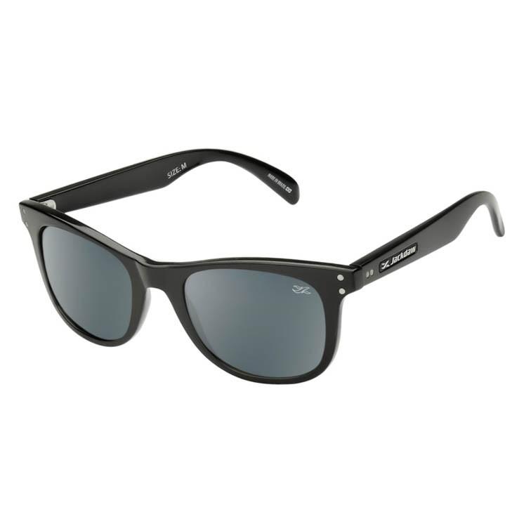 Óculos de Sol Jackdaw 50 Preto Brilho Polarizado Grilamid