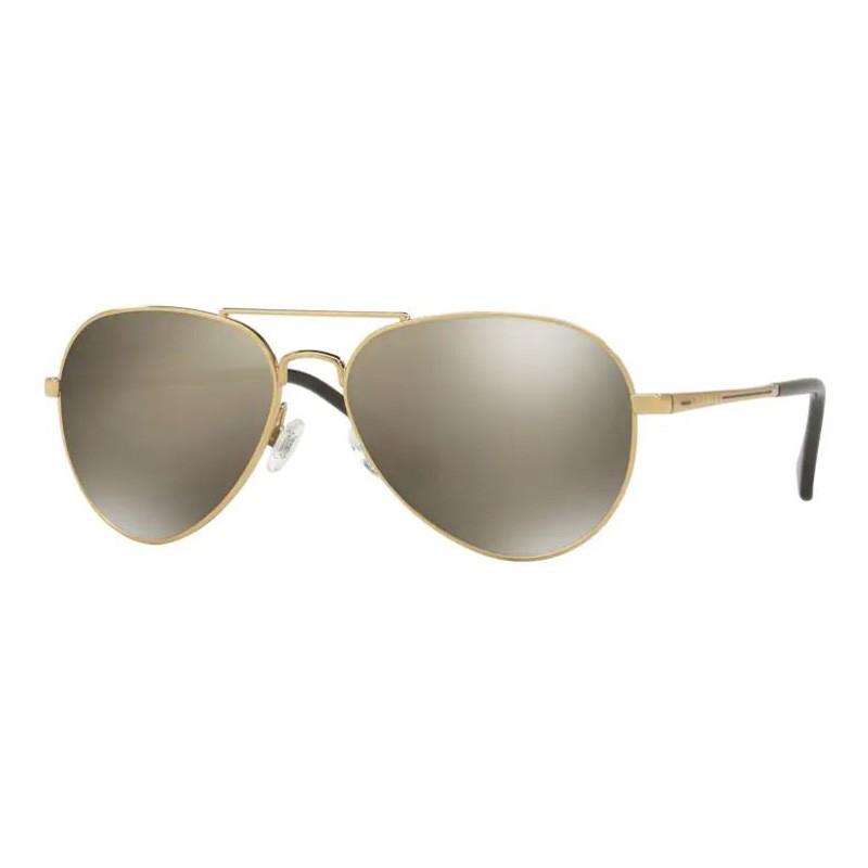 Óculos de Sol Kipling KP2017 Metal Dourado Brilho Espelhado