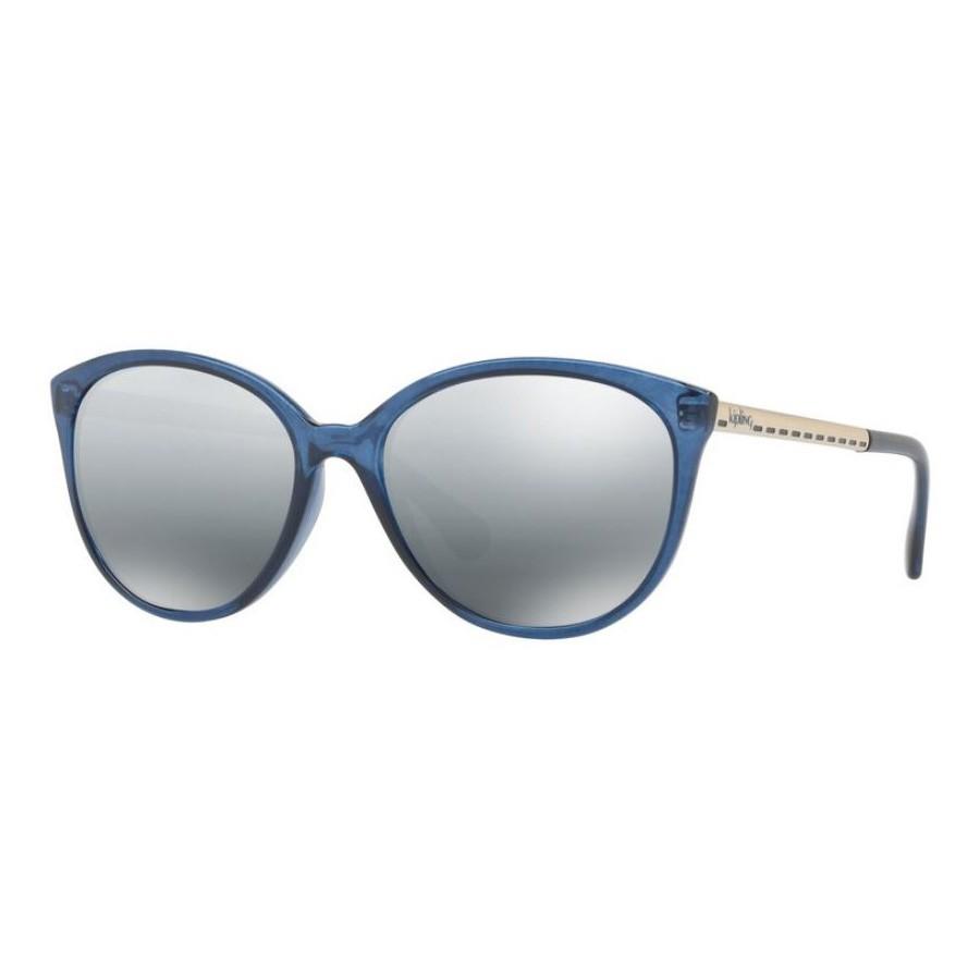 Óculos de Sol Kipling KP4048 Azul Brilho Cinza Espelhado