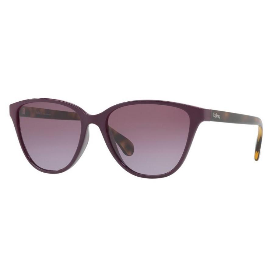 Óculos de Sol Kipling KP4049 Roxo Brilho com Marrom Havana
