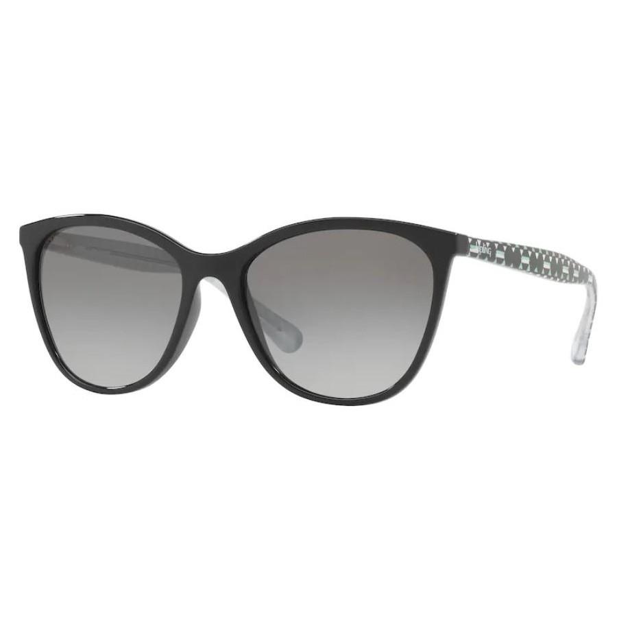 Óculos de Sol Kipling KP4050 Preto Brilho com Estampa