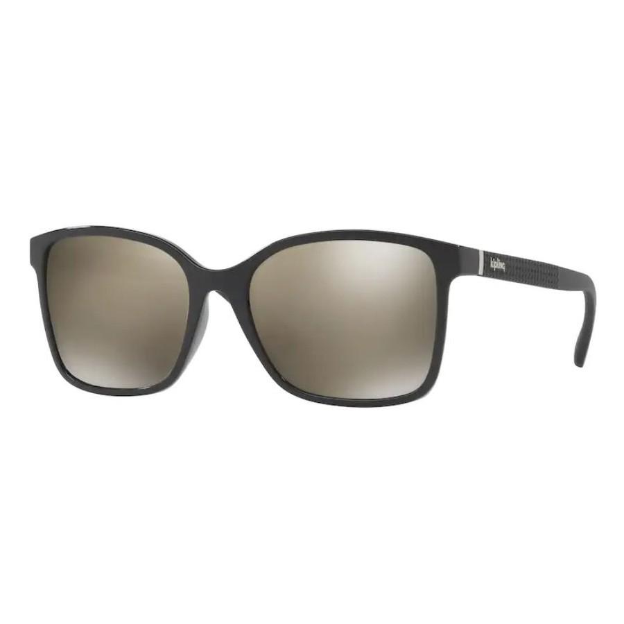 Óculos de Sol Kipling KP4051 Preto Brilho Dourado Espelhado