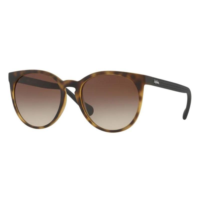 Óculos de Sol Kipling KP4052 Marrom Havana Fosco Tamanho 53