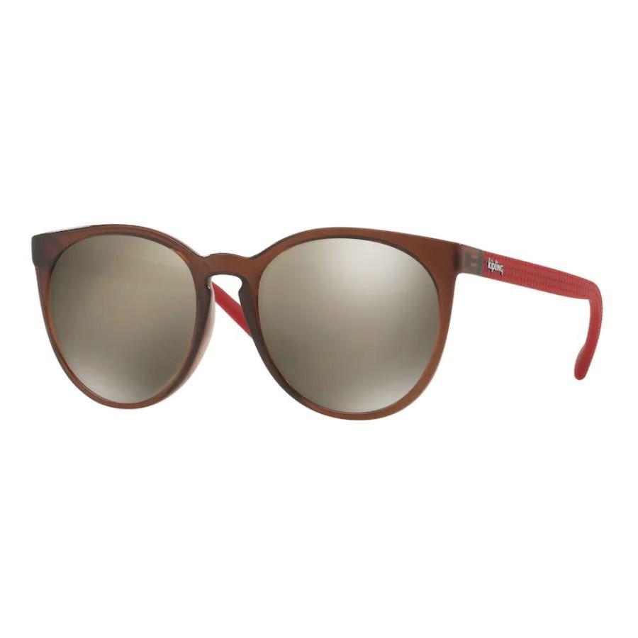 Óculos de Sol Kipling KP4052 Marrom Trnaslúcido com Vermelho