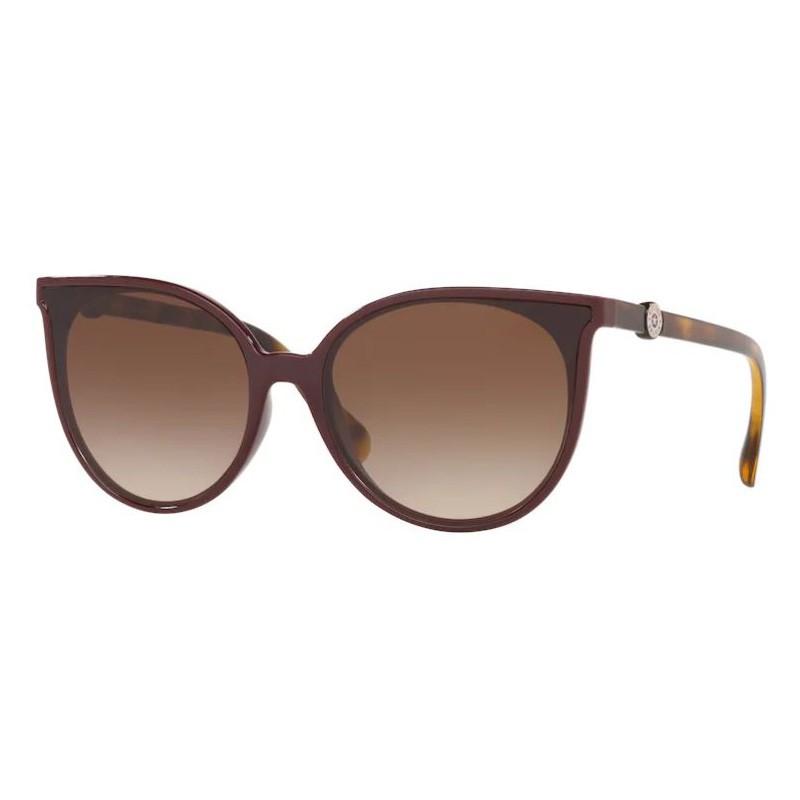Óculos de Sol Kipling KP4060 Marrom Escuro Brilho Tamanho 61