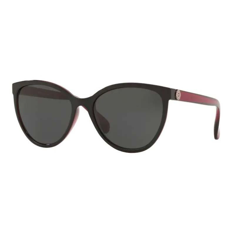 Óculos de Sol Kipling Pequeno KP4055 Preto Brilho com Bordô