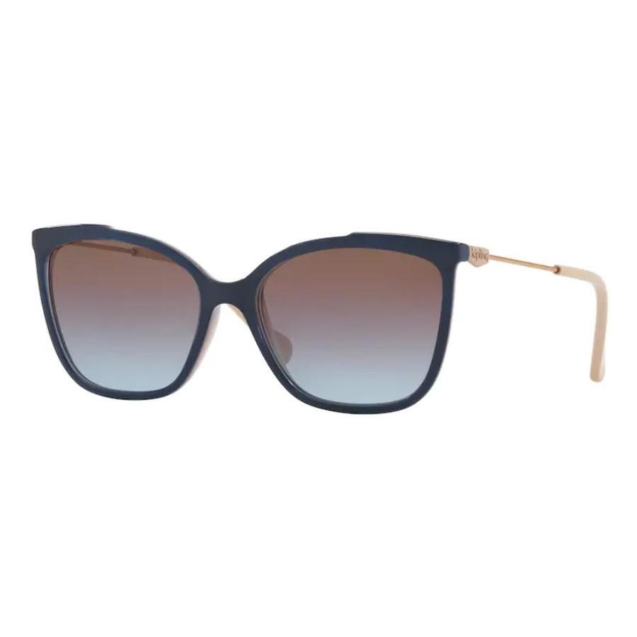 Óculos de Sol Kipling Quadrado KP4056 Azul Marinho e Nude